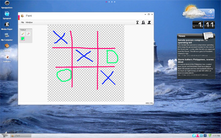 Draw and Brainstorm together on Synaptop Sketch!