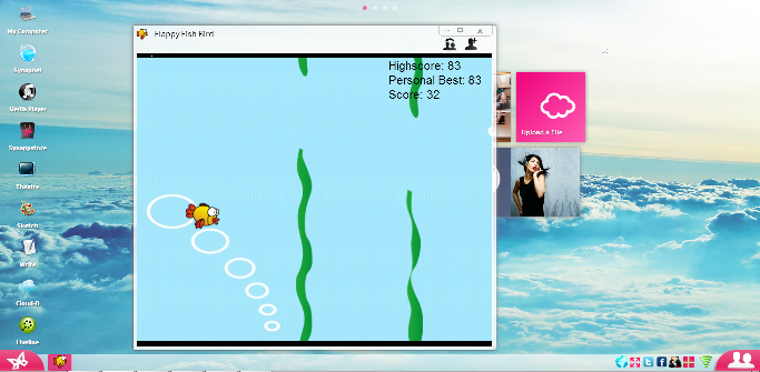 Play new Flappy Bird game on Synaptop!